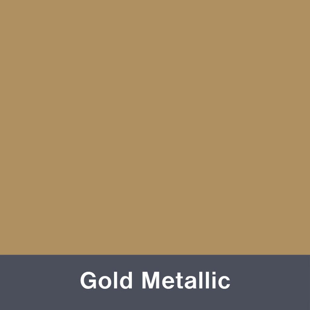 "Gold Metallic (Gloss) 12"" x 24"""