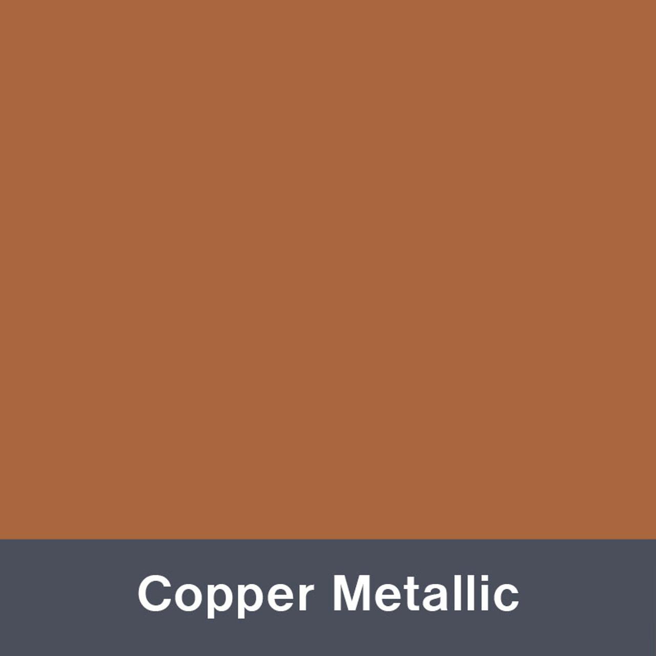 "Copper Metallic (Gloss) 12"" x 24"""