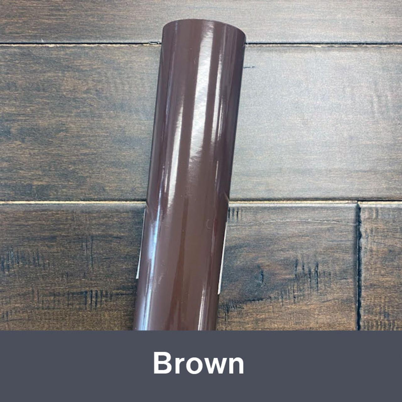 "Brown (Gloss) 12"" x 5yd"