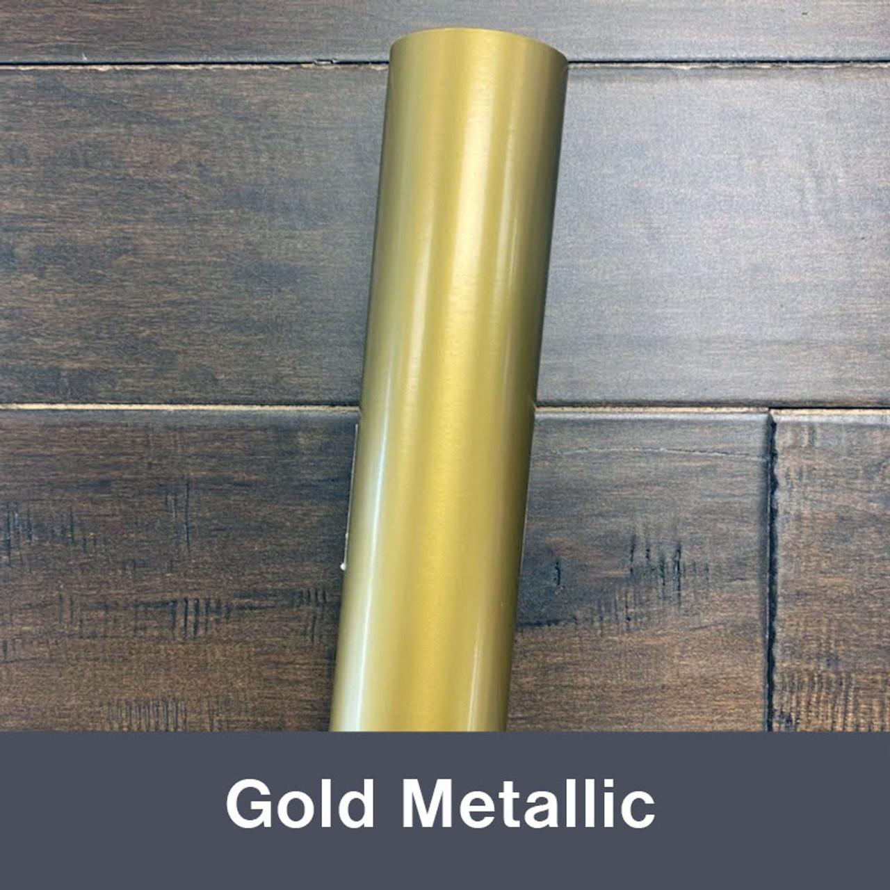 "Gold Metallic (Gloss) 12"" x 5yd"