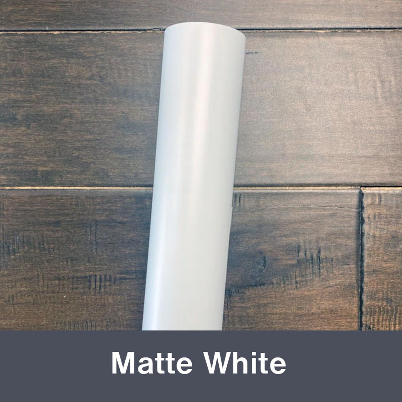 """White (Matte) 12"""" x 5yd"""
