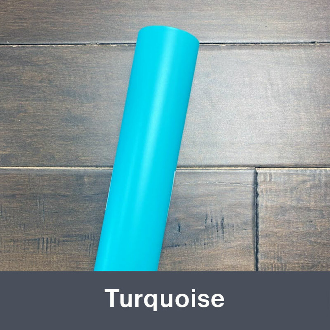 """Turquoise (Matte) 12"""" x 5yd"""