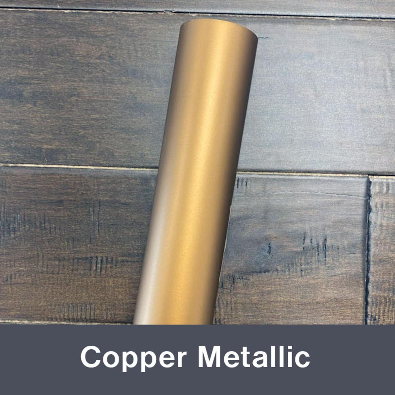 "Copper Metallic (Matte) 12"" x 5yd"
