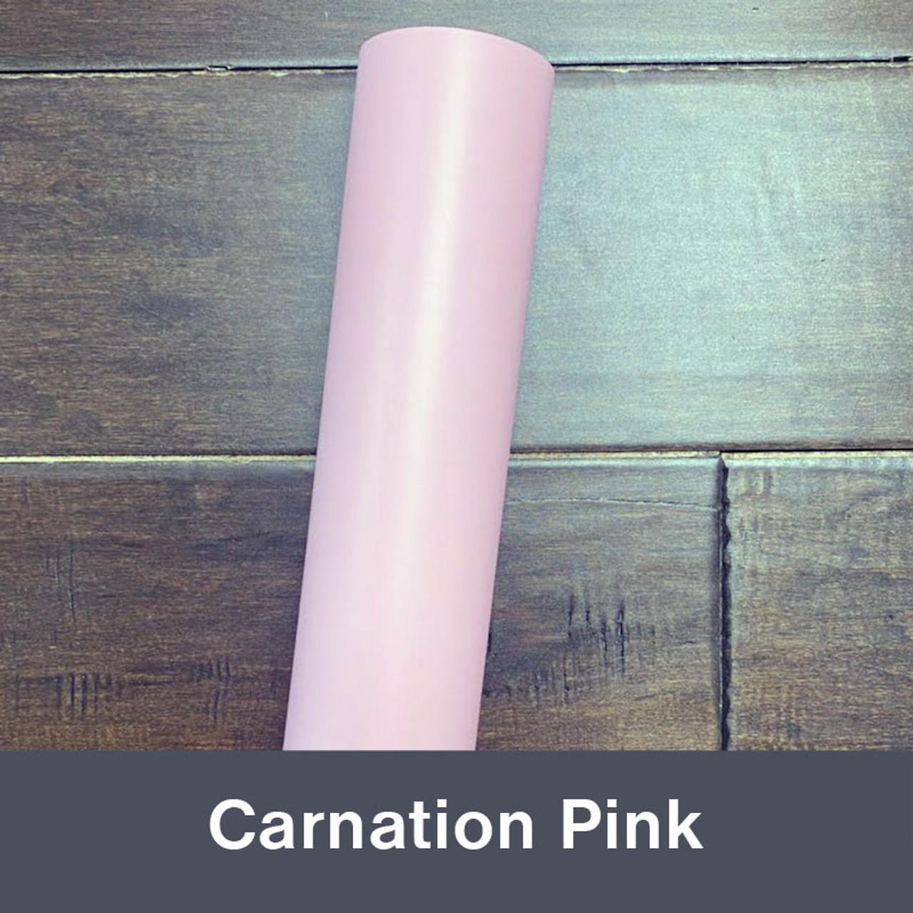 "Carnation Pink (Matte) 12"" x 5yd"