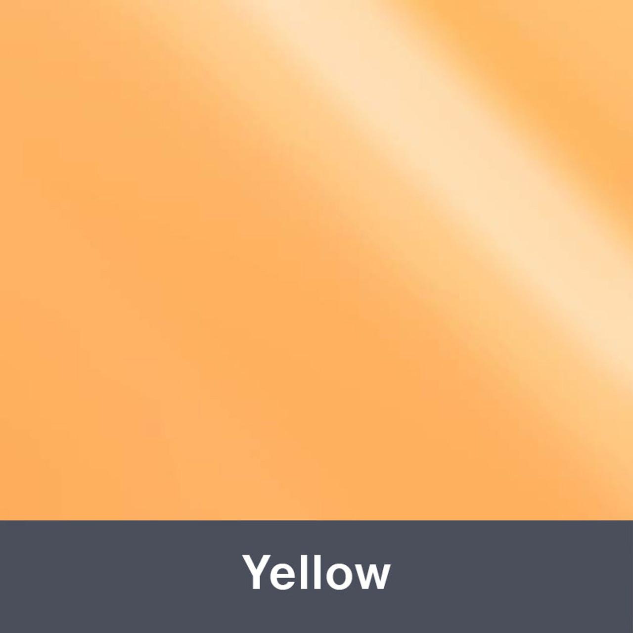 "Iron-on Yellow Electric 12"" x 14.75"""