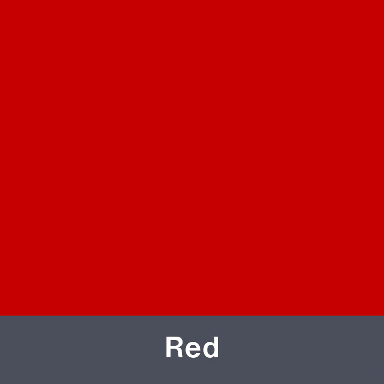 "Iron-on Red Stretch 12"" x 14.75"""