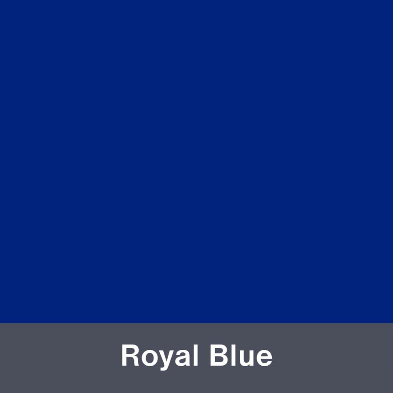 "Iron-on Royal Blue Stretch 12"" x 15"""