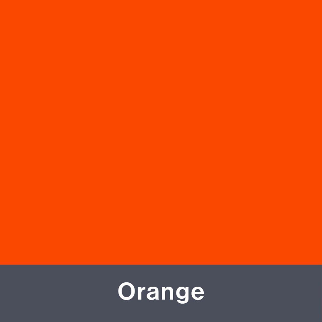 "Iron-on Orange Stretch 12"" x 14.75"""