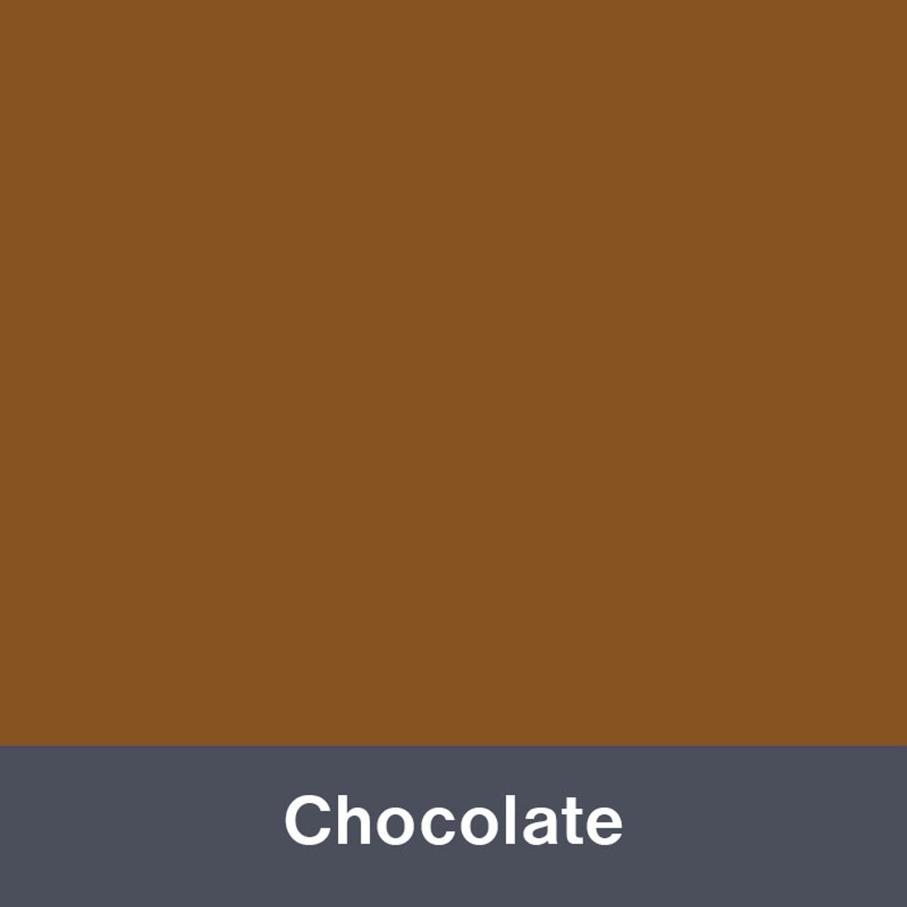 "Iron-on Chocolate 12"" x 14.75"""
