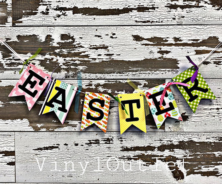 Creative Test Kitchen; Learn to Make an Easter Pennant Banner
