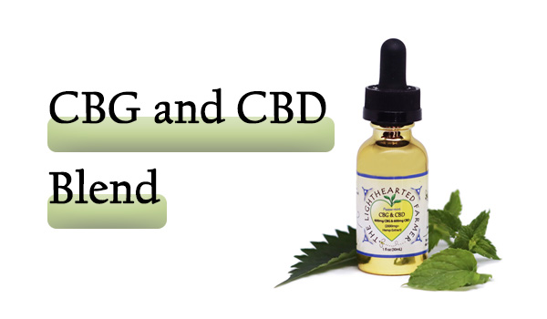 CBG and CBD Oil Blend