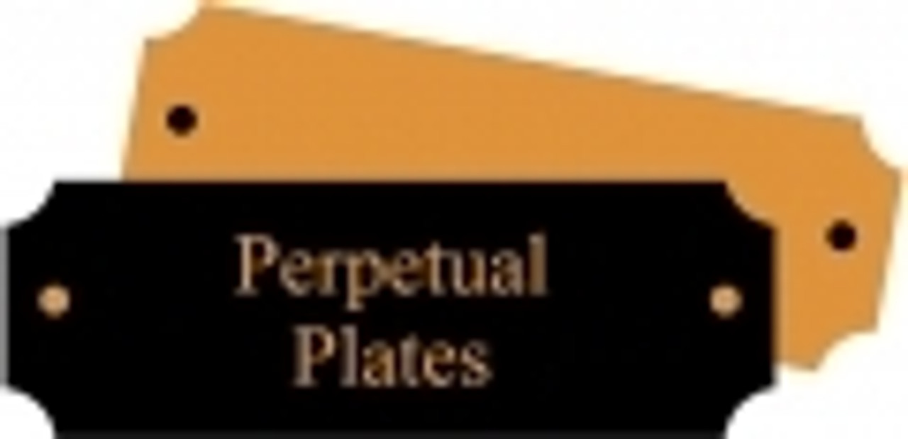 Perpetual Plaque Replacement Plates