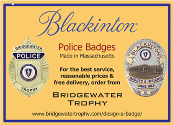 Now Selling: Blackinton Police Badges - Made in Massachusetts!