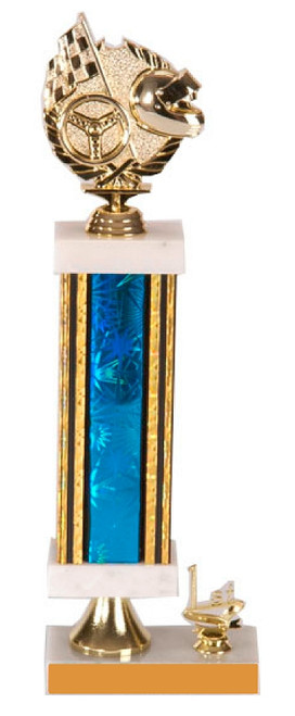 "Medium Trophy - Style 3 - 13"" Tall"