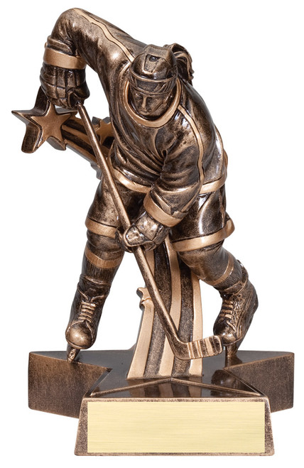 "Hockey Resin Female 8.5"" Tall"