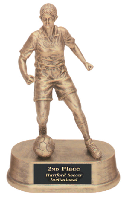 "Soccer Resin Kicking Ball Female 7.75"" Tall"