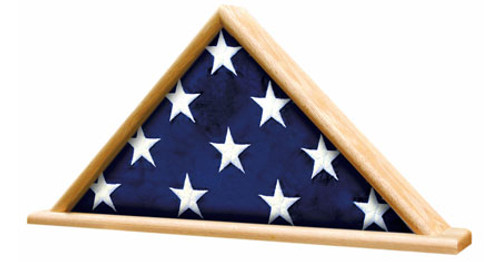Ceremonial Flag Triangle on Base