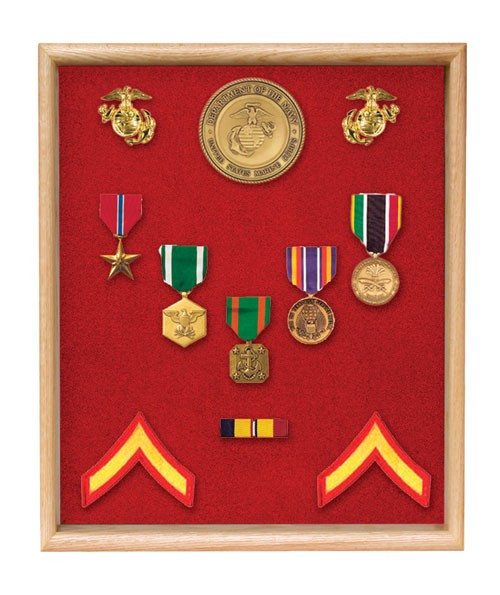 Large Medals Display Case