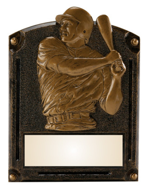 "Baseball Legends of Fame Standing Resin Award 8"" Tall"