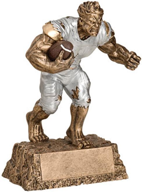 "Football Monster Resin Award 6.75"" Tall"