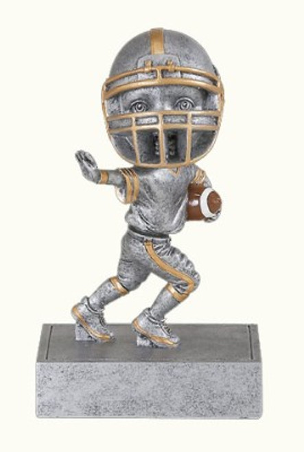 "Football Bobble Head Resin 5.5"" Tall"