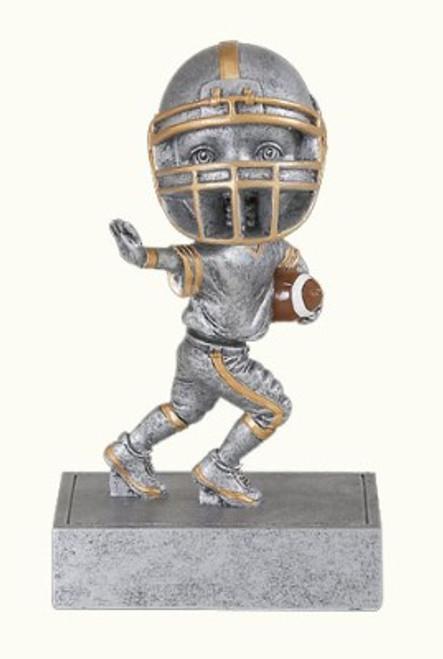 "Football Bobble Head Resin 5.5"" Tall"