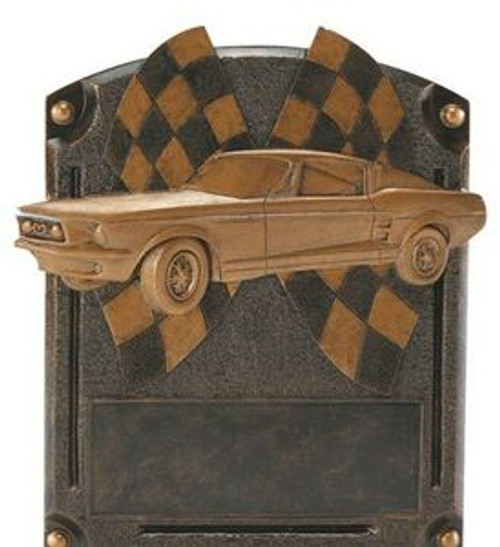 "Muscle Car Legends of Fame Standing Resin Award 8"" Tall"