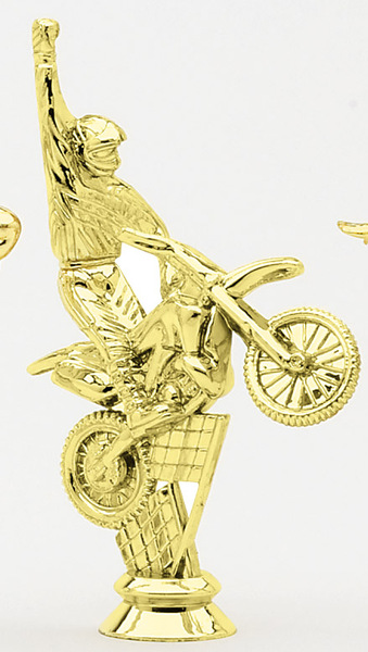 Motorcycle - Hand Raised