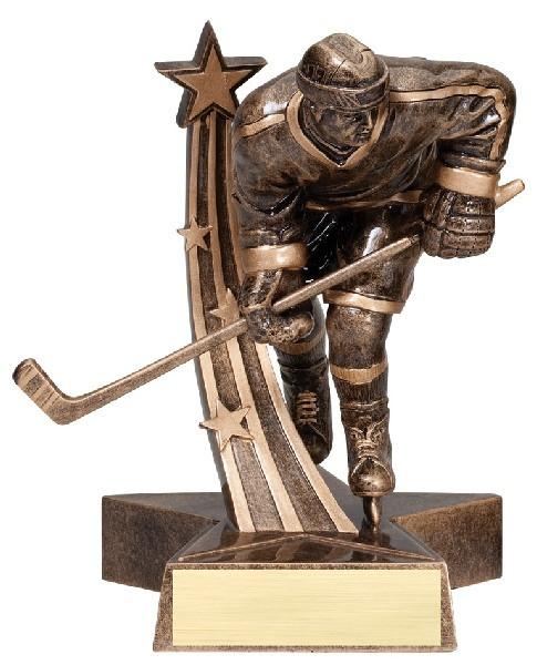 "Hockey Resin Male 6.5"" Tall"
