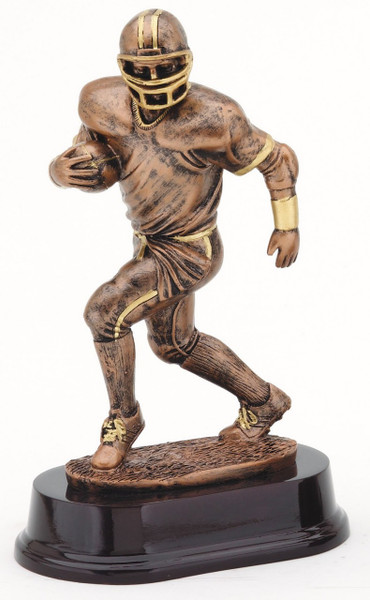 "Football Resin Runner 8"" Tall"