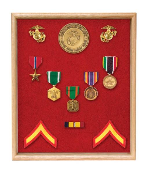 Large Medals Display Case