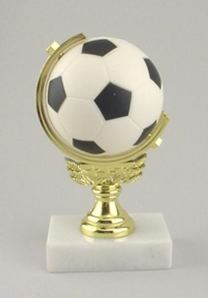 Soft Foam Spinner Soccer Trophy