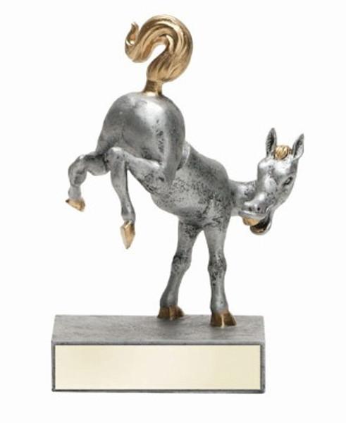 Horse's Rear Bobblehead Resin Figure