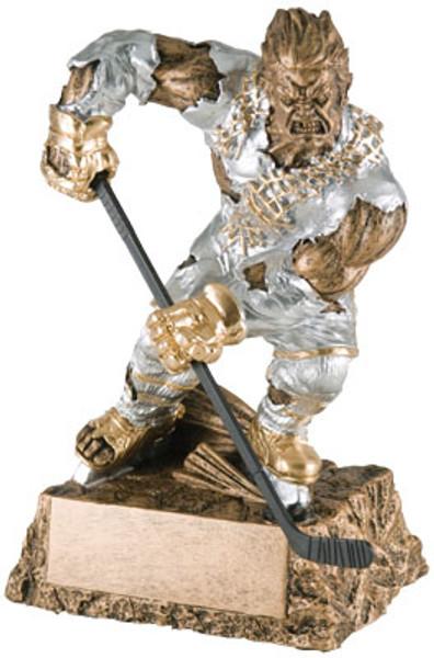 """Hockey Monster Resin Award 6.75"""" Tall"""
