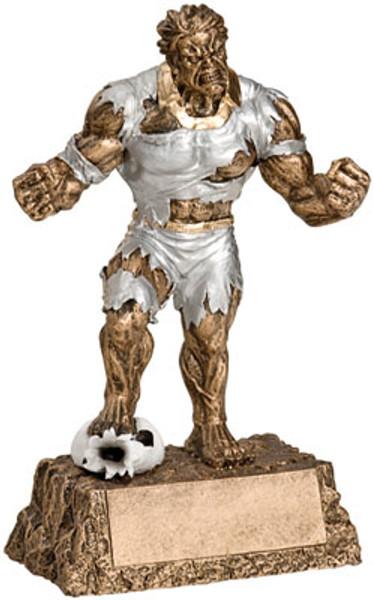 """Soccer Monster Resin Award 6.75"""" Tall"""