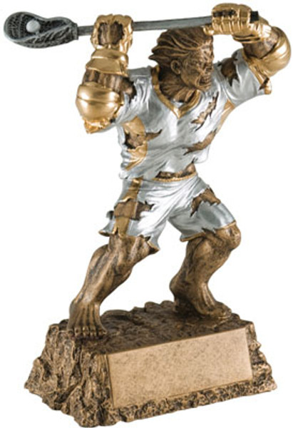 "Lacrosse Monster Resin Award 6.75"" Tall"