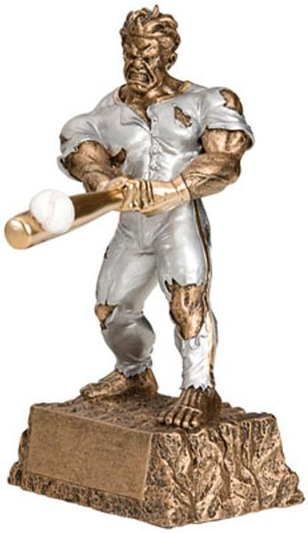 """Baseball Monster Resin Award 6.75"""" Tall"""
