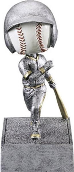 "Baseball Bobble Head Resin 5.5"" Tall"