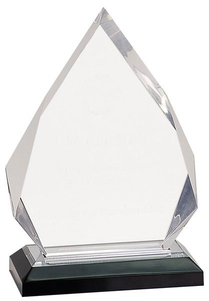 """Diamond Impress Clear Acrylic 8.75"""" Tall"""