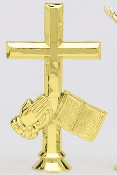 Cross - Bible and Hands