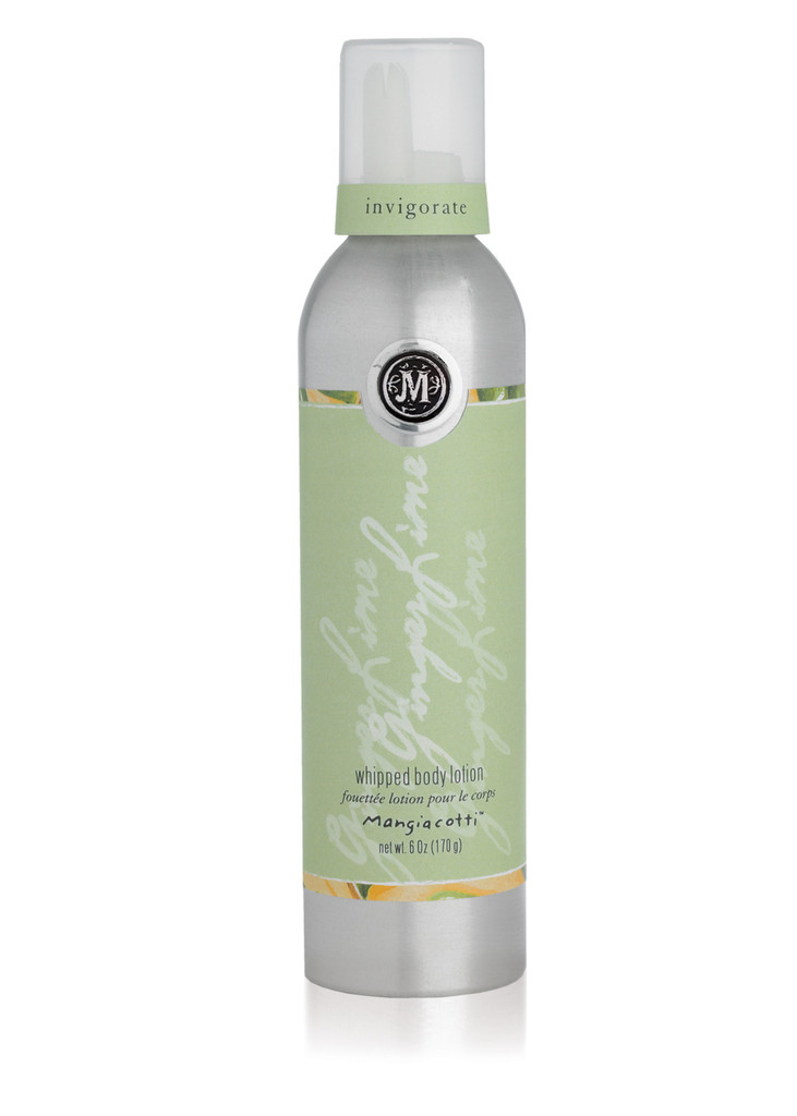 Ginger Lime Whipped Body Lotion