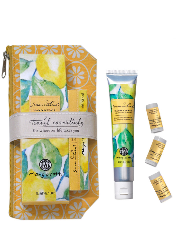 Lemon Verbena Travel Essentials - Hand & Lips