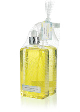 Yellow Kitchen Soap and Surface Cleaner bottles packaged together in netting
