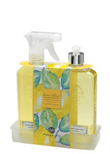 Lemon Verbena Kitchen Sink Set