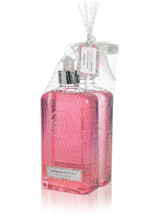 Pink Kitchen Soap and Surface Cleaner bottles packaged together in netting