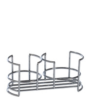 Wire caddy with two slots for  Hand Soap and Lotion or Kitchen Soap and Surface Cleaner