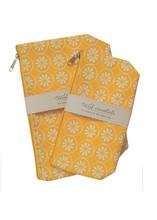 Lemon Verbena  Travel Essential Cosmetic Bags (set of 2)