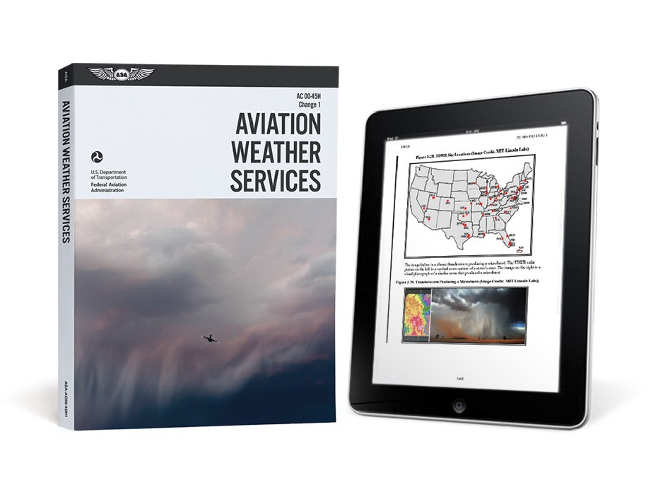 ASA Aviation Weather Services eBundle ASA AC00-45H1-2X SkySupplyUSA.com