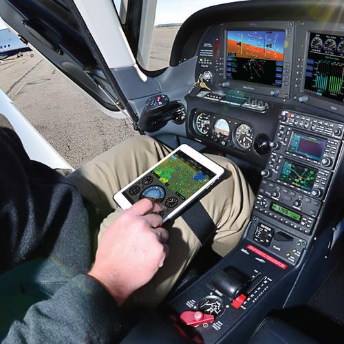 MyGoFlight The iPad Kneeboard Sport™ (9.7) cockpit view