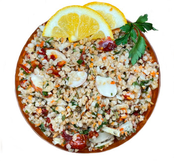 Lemony Herb Quinoa Salad